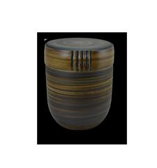 Keramikurnen mit Oxiden eingefärbt